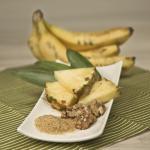 Tropisches Bananenbrot