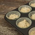 Mandel-Marzipan-Cupcakes mit Vanillebuttercreme