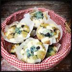 Blaubeer-Streusel-Muffins