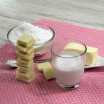 Weiße Schokolade-Kokos-Frosting